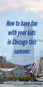 How to have fun with your kids this summer in Chicago: if you're looking for things to do in Chicago with your kids, or you just need a resource that lists parks, splash parks, hiking, biking ideas and more, you should check out this post at starfishchicagoblog.wordpress.com.