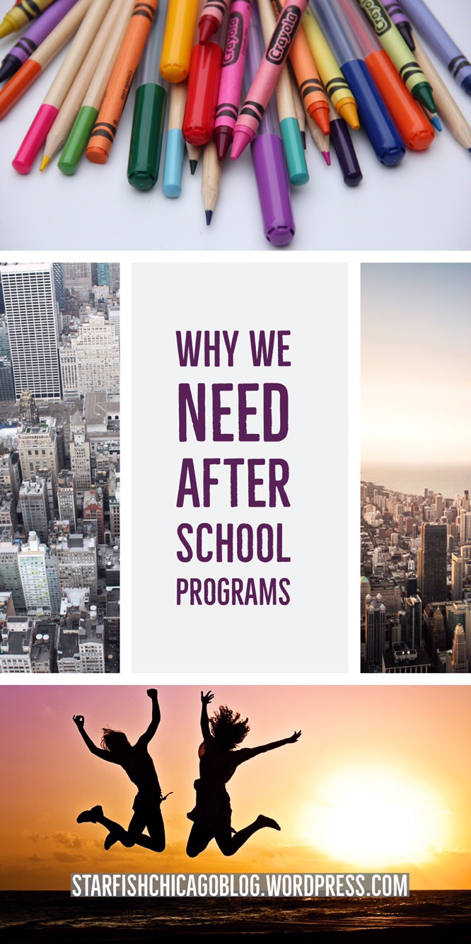 Why we need after school programs: how poverty affects inner city youth and how after school programs can help. Read about it at starfishchicagoblog.wordpress.com.